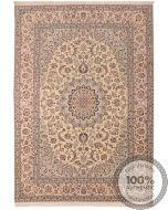 Nain 6La rug with silk highlights - 9'25 x 6'56