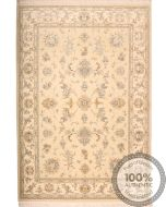 Persian Tabriz rug with silk foundation - 8 x 5'5