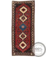 Persian Yalameh / Yallameh runner rug red