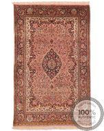 Persian Qum silk - 5'3 x 3'3