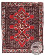 Persian Senneh rug pink