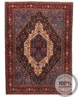 Persian Senneh rug navy