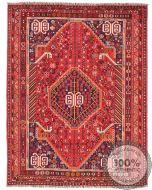 Persian nomadic Shiraz rug red