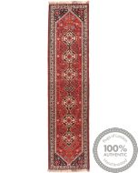 Persian Shiraz nomadic runner rug