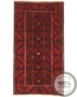 Balouch Baluch rug - 5'1 x 2'7