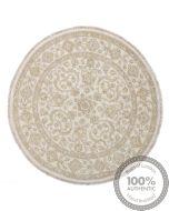 Garous Ziegler design circular rug 3'97 x 3'97