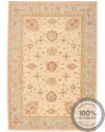 Garous Ziegler design rug - Blue border 9'6 x 6'7