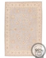 Garous Ziegler rug beige border blue base 9'5 x 6'6