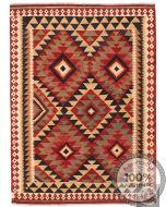 Shirvan design kilim 7'9 x 5'8