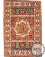 Garous Ziegler Mamluk design rug 8'9 x 6.2