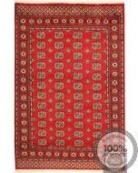 Bokhara Gul Design Rug - Red / Beige Patterns Medium Size