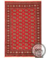 Bokhara design rug - red