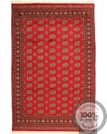 Red Bokhara Rug 9'3 x 6'5
