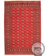 Bokhara Gul Design with red
