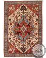 Shirvan design rug biege