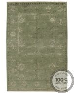 Garous Ziegler rug with part Silk - 8'2 x 5'6