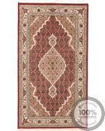 Tabriz Mahi Indian rug - Red - front view