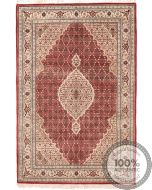 Tabriz Mahi Indian rug red