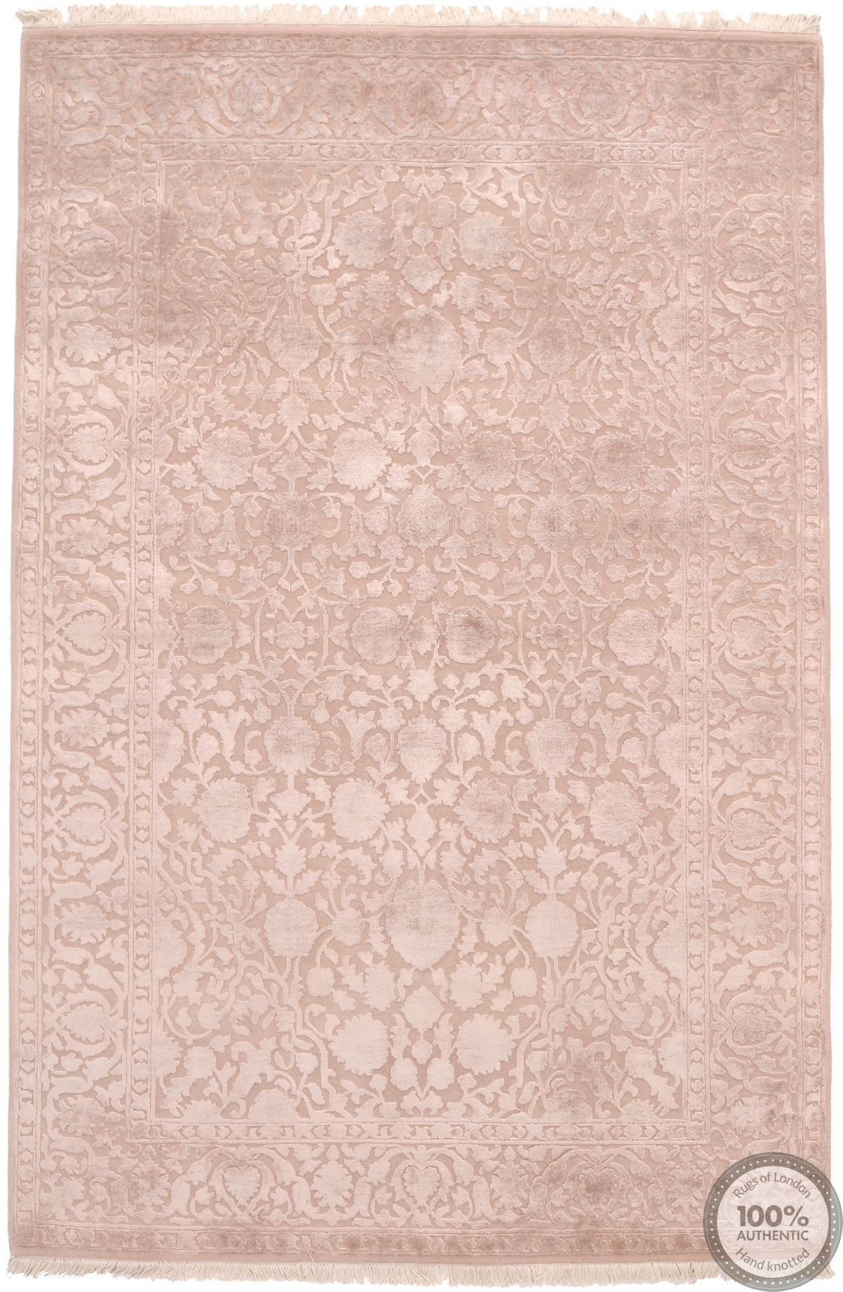Keshan design contemporary Indian rug - 5'18 x 7'91