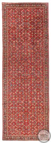 Mahal runner rug red