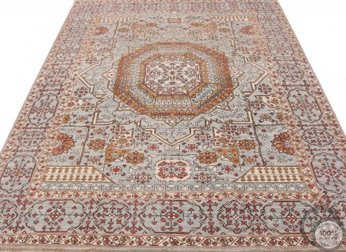 Garous Ziegler Mamluk design rug 8'5 x 6'2