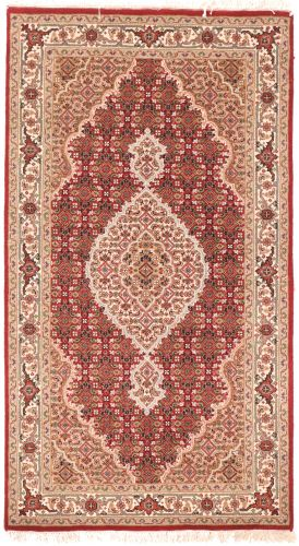 Tabriz Mahi design rug - red