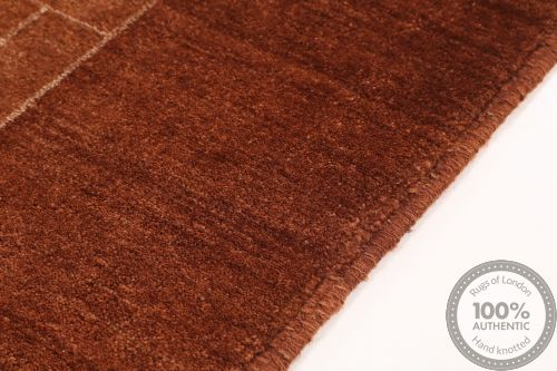 Gabbeh modern Dark/ Light Brown