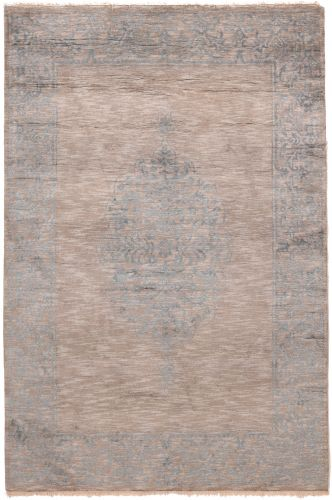 Elegance contemporary modern Indian rug - 7'8 x 5'2