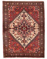 Persian Heriz rug red