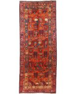 Azerbaijan runner rug orange