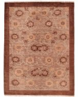 Modern Floral brown Design