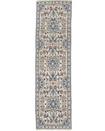 Persian Nain Runner - Light Blue