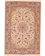 Persian Fine Isfahan part silk rug