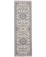 Persian Nain rug with silk higlights