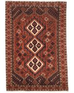 Persian Shahrbabak rug mix