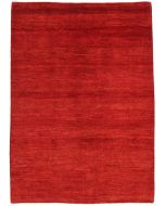 Gabbeh Modern Rug in Red - front