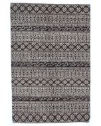 Garous Ziegler design modern rug - Black