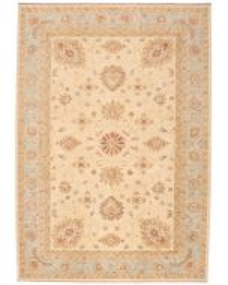 Garous Ziegler design rug - Blue border