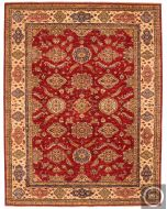 Kazak Caucasian design rug - Red