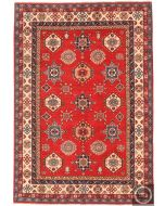 Caucasian Kazak design rug red