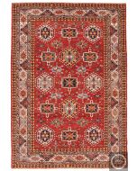 Shirvan design rug red