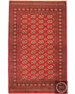 Bokhara Elephant Footprint design - red
