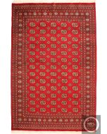 Bokhara Rug Design - Red
