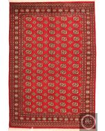 Bokhara red rug