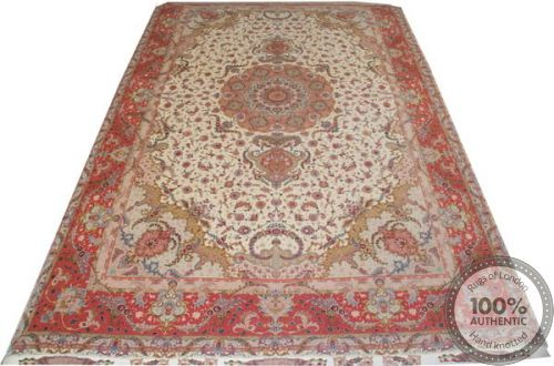 Persian Tabriz 60Raj rug with silk highlights