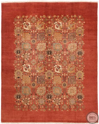 Fine Garous / Mohtasham Design Rug - Red 11'71 x 8'89