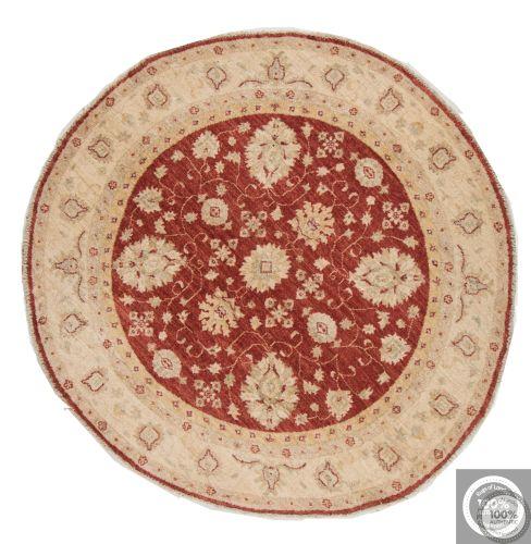 Garous Ziegler design rug - Red Circle