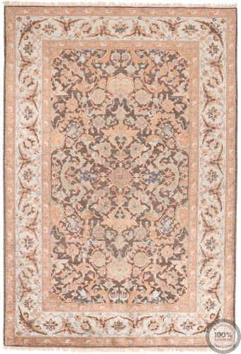 Polonaise Design Rug - Part Silk - 7'9 x 5'4