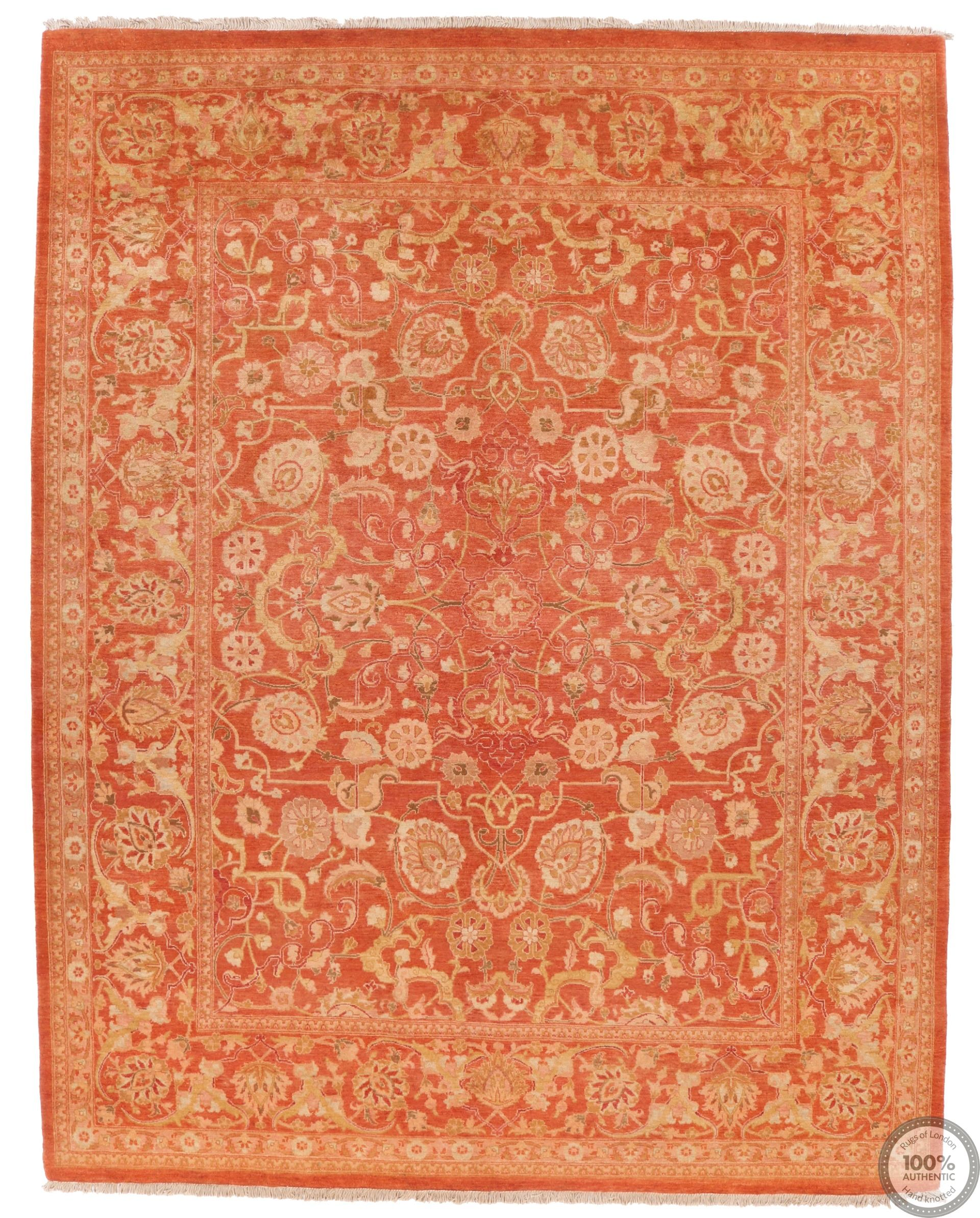 Mohtasham Design - Orange 10 x 7'9