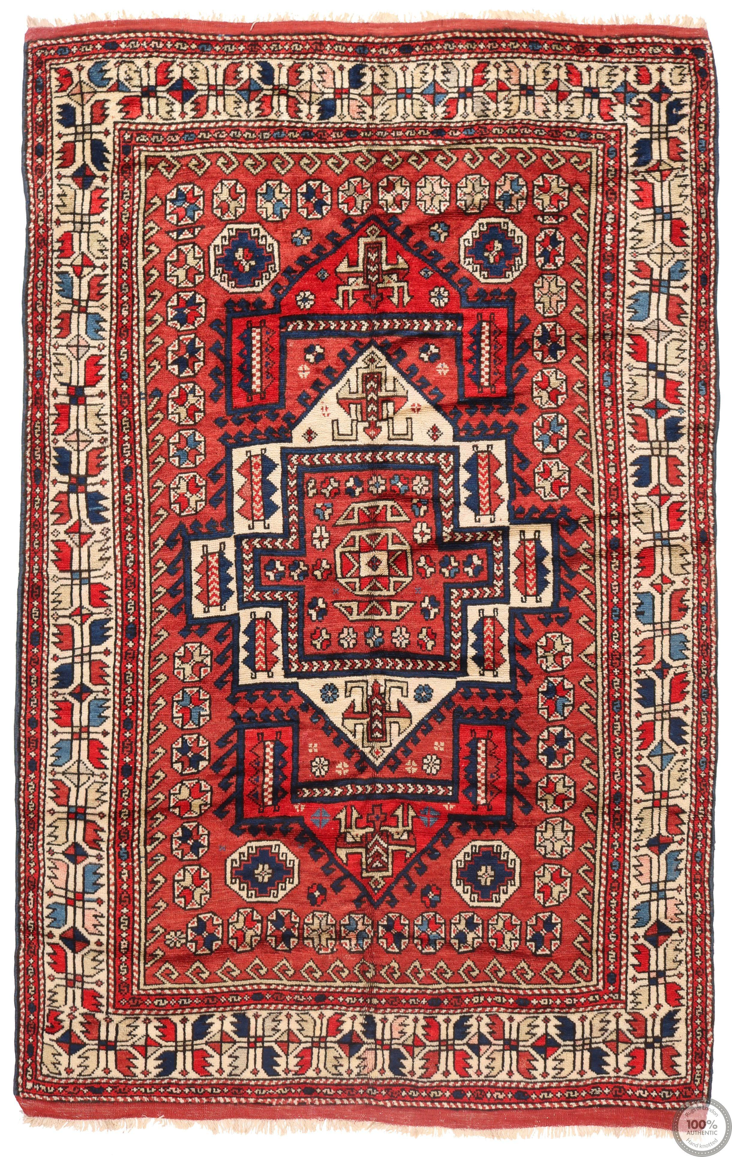 Anatolian Antique Rug - 8'1 x 5'1
